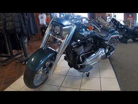 2020 Harley-Davidson Fat Boy 114 FLFBS
