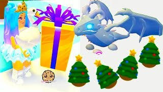 Buying FROST DRAGON + Surprise Pet Christmas Eggs Let's Play Roblox Adopt Me Video Game