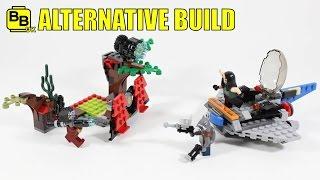 LEGO GOTG VOL.2 76079 ALTERNATIVE BUILD TASERFACE'S BATTLEBASE