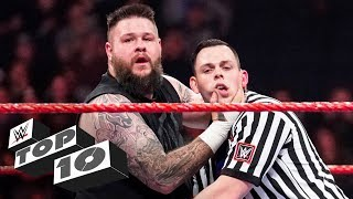 Cheating referees: WWE Top 10 March 12020