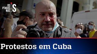 Povo de Cuba vai às ruas contra o comunismo e a tirania