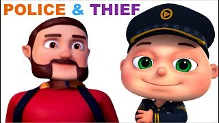 Zool Babies Series | Toy Store Robbery | Police & Thief Episodes | Cartoon Animation | Kids Shows