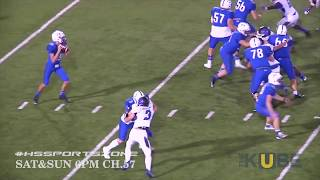 New Caney Eagles vs Barbers Hill Eagles 10-27-17