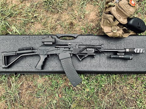 Отстрелялись c фонарём Armytek Predator Pro и магнитным креплением AWM-03