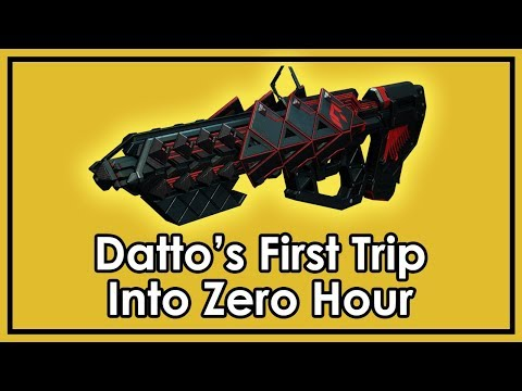 Destiny 2: Datto's First Time Exploring Zero Hour / Outbreak Perfected