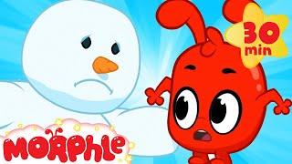 My Magic SNOWMAN! - My Magic Pet Morphle | Christmas Cartoons For Kids | Mila & Morphle | Morphle TV