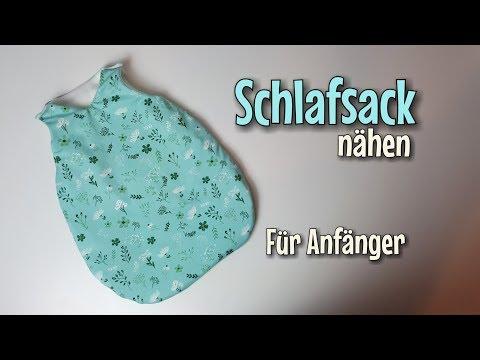 Schlafsack - Nähanleitung OHNE Schnittmuster - Für Anfänger - Nähtinchen