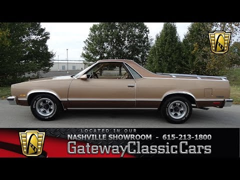 Video of 1986 El Camino - M2TT
