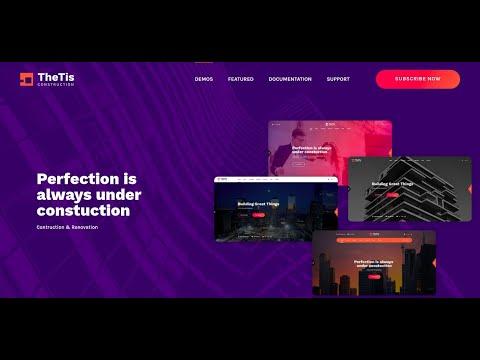 TheTis – Construction & Architecture WordPress Theme   Professional Architects Website Theme
