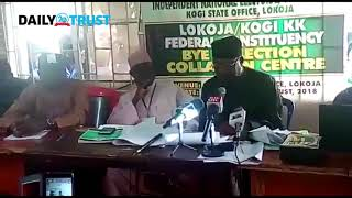 VIDEO: INEC declares APC candidate winner of Lokoja/Kogi bye-election