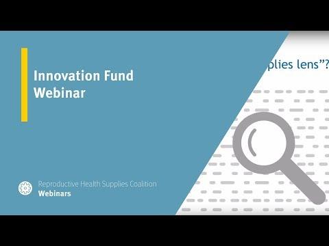 Innovation Fund Webinar