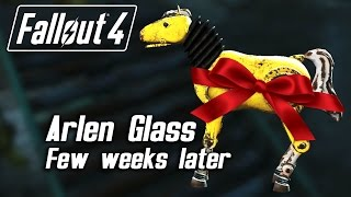 Fallout 4 - Checking up on Arlen Glass a few weeks later