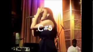 Keke Wyatt vs. Tarralyn Ramsey Live vocal battle: Bb4 - C#6