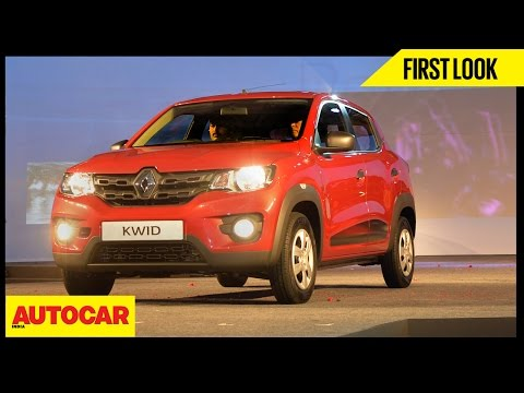 Renault Kwid | First Look Video Review | Autocar India