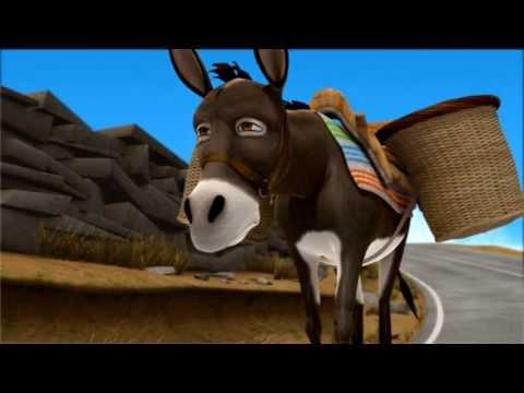 Mariza -the Stubborn Donkey by Constantine Krystallis