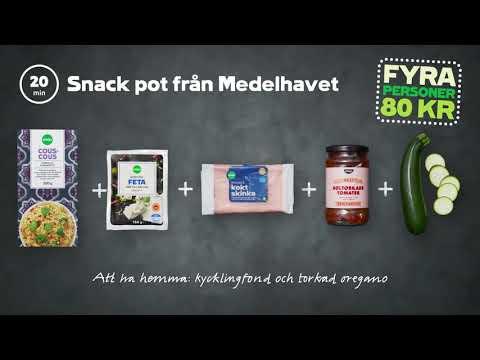 Snack pot från Medelhavet | 4 personer 80 kr