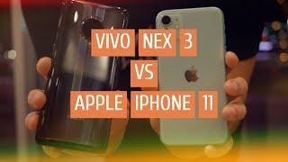 Vivo NEX 3 против Apple iPhone 11 😱 Большое сравнение флагманов ФОТОБАТЛ - Айфон 11 vs Виво Некс 3