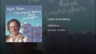 Letter from Africa