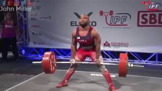 Ls McClain - 820kg 1st Place 93kg - IPF World Classic Powerlifting Championships 2018
