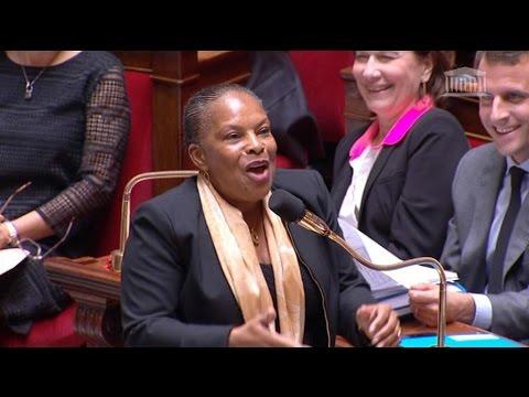 Vidéo de Christiane Taubira