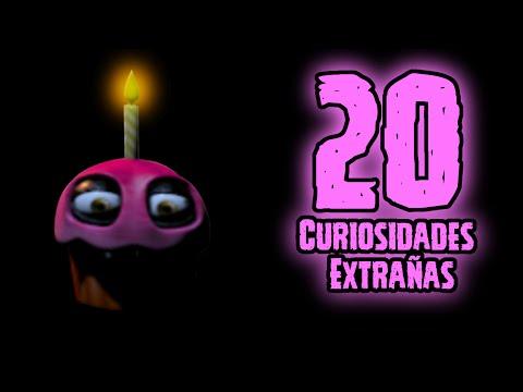 TOP 20: Las 20 Curiosidades Extrañas De Cupcake En Five Nights At Freddy's | fnaf 1 | fnaf 2