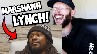 Rugby Player Reacts to MARSHAWN LYNCH Most Savage Moments!