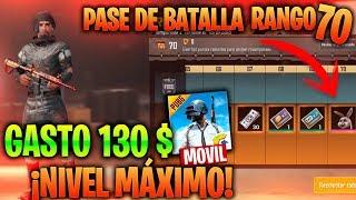 ¡¡ME GASTO 130$ Y SUBO AL MAXIMO EL PASE DE BATALLA en PUBG MOBILE!! - MattsinLife