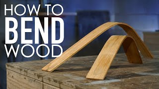 Learning How To Bend Wood Using A Steam Cleaner | Woodworking