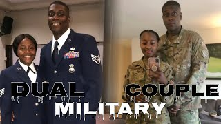 WHAT IS IT LIKE BEING MARRIED IN THE MILITARY? | DUAL MILITARY | #LIGHTFOOTGANG