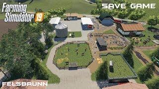 Save Game   Animals on Felsbrunn   Farming Simulator 19