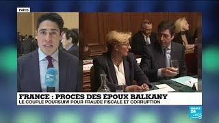 """France : les époux Balkany de nouveau face aux juges pour """"blanchiment à grande échelle"""""""