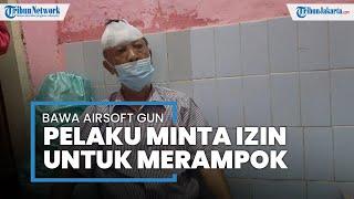 Tembakkan Airsoft Gun ke Penghuni Rumah, Perampok: Jangan Panik, Saya Datang untuk Merampok