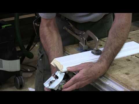 Installing Baseboard: Coping Inside Corners
