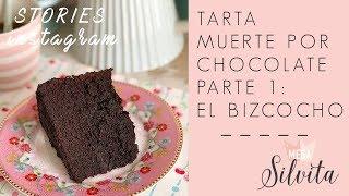 Tarta Muerte por Chocolate.Parte 1: El Bizcocho - Recetas Stories Megasilvita