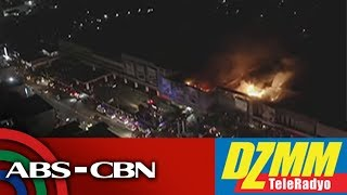 Fire hits Robinsons Place mall in Tacloban   DZMM