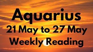 AQUARIUS MAY 21-27 2018 - FATE BRINGS YOU TOGETHER!