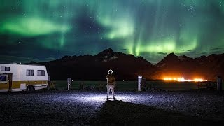 THE NORTHERN LIGHTS ARE INCREDIBLE!