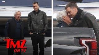 Tom Brady Gives A Warm Hug To Robert Kraft Amidst Allegations   TMZ TV