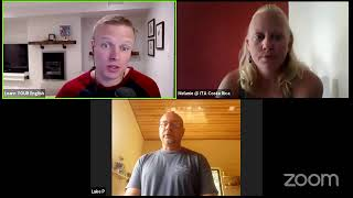 Melanie & Luke from ITA Costa Rica LIVE with Learn YOUR English