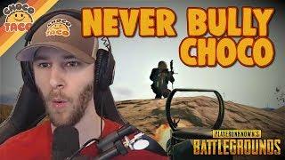 chocoTaco Doesn't Like Bullies ft. hambinooo - PUBG Gameplay