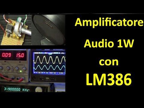 PierAisa #422: Amplificatore audio con LM386
