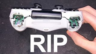 I tried using a controller on Fortnite and raged...