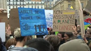 Climate: Parisian youth are mobilising