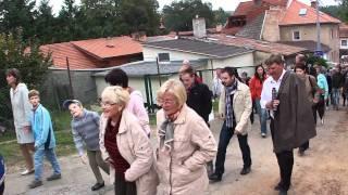 preview picture of video 'Lelekovice Hody 25.9.2010 - Cesta na sokolovnu'