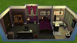 Sims 4 Speed Build - Punk Grunge Goth Emo Teen Bedroom