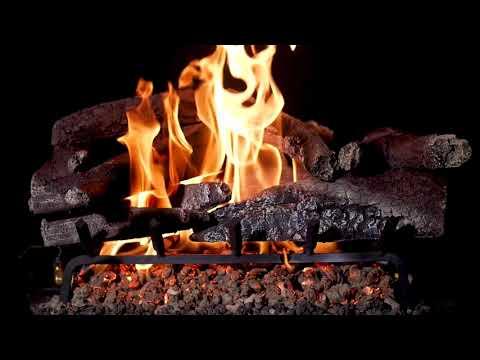 BBQGuys Vail Mountain Charred Oak Vented Gas Log Set