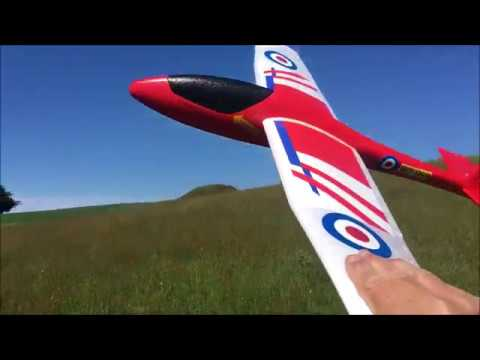 lidl-xl-gliderplane-at-the-slope