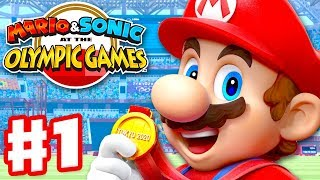 Mario & Sonic at the Olympic Games Tokyo 2020 - Gameplay Walkthrough Part 1 - Story Mode!