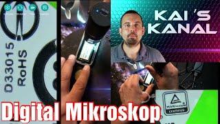 ✅ Digital Mikroskop  50 bis 1000x Vergrößerung   WiFi Android+iOS   USB Win+Mac   900mAh - 2MP/1080P