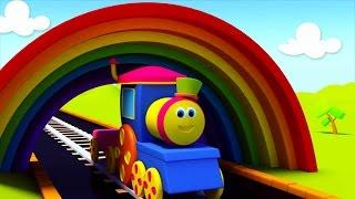 Паровозик Боб и разноцветная поездка
